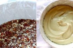Příprava receptu Nepečený malinový dort snů s kešu oříšky, krok 1