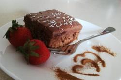 Příprava receptu Jednoduchý koláček s kávou, krok 2