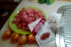 Příprava receptu Guláš z krůtího masa, krok 2
