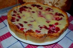 Příprava receptu Křehký malinový dort - FOTOPOSTUP, krok 12