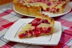 Příprava receptu Křehký malinový dort - FOTOPOSTUP, krok 13