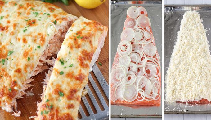 Recept Pečený losos se sýrovou krustou