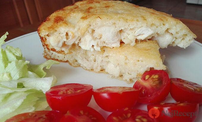 Recept Lehký kuřecí koláč na snídani