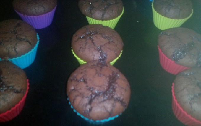 Recept Brownies muffiny