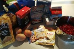 Příprava receptu Svěží rybízový dort s piškoty, krok 1