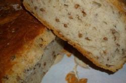Příprava receptu Pšeničný chlebíček s kroupami, krok 1