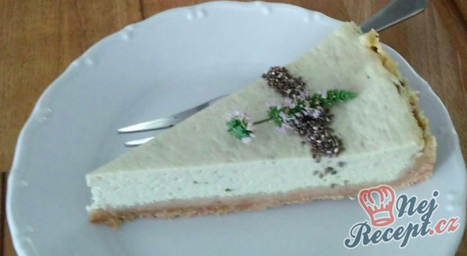 Matcha-tea cheesecake