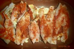 Příprava receptu Kapr na cibuli a česneku, krok 1