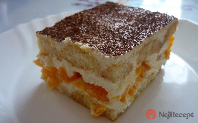 Recept Tiramisu s mandarinkami