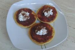 Příprava receptu Lívance s jahodovou marmeládou, krok 2