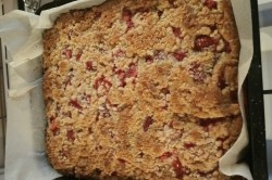 Příprava receptu Bublanina s Oreo sušenkami, krok 4