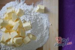 Příprava receptu Osvěžující dort s borůvkami, krok 1