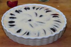 Příprava receptu Švestkový koláč s vanilkovou vůní, krok 6