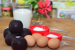 Příprava receptu Švestkový koláč s vanilkovou vůní, krok 1