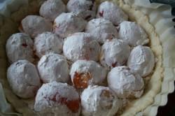 Příprava receptu Fantastický meruňkový dort SNĚHULÁK, krok 1