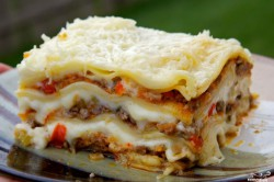 Příprava receptu Vynikající lasagne - fotopostup krok za krokem, krok 24