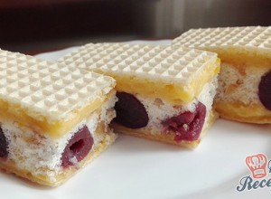 Recept Rumba cherry řezy