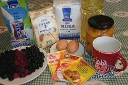 Příprava receptu Ovocný koláč s drobenkou, krok 1