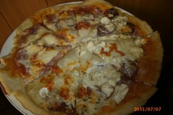 Základní recept - těsto na pizzu nebo pizzovníky, krok 1