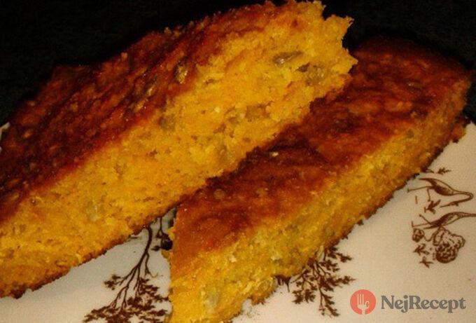 Recept Bezlepkový mrkvový koláček