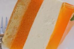 Příprava receptu Svěží jogurtový dort s broskvemi, krok 2