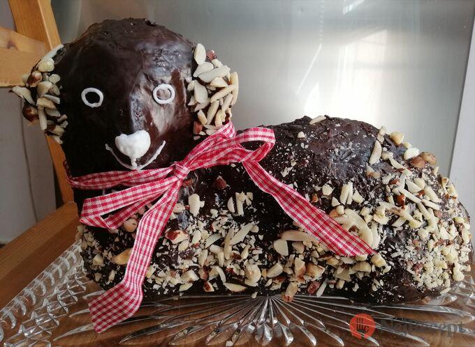Recept Čokoládový velikonoční beránek