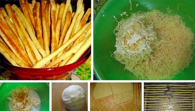 Recept Párty sýrové tyčinky