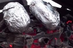 Příprava receptu Bramborová sopka se sýrovou erupcí + Videonávod, krok 3
