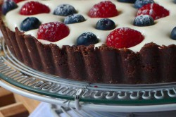 Příprava receptu Osvěžující dort s mascarpone krémem a ovocem, krok 2