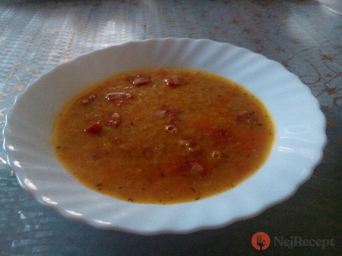 Recept Polévka z červené čočky