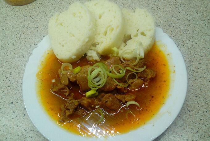Recept Guláš z krůtího masa