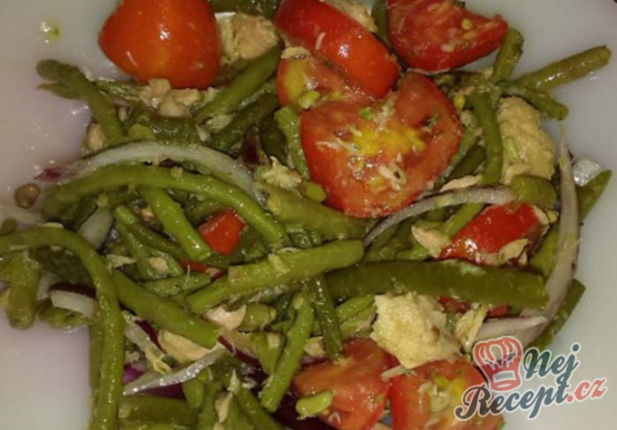 Recept Zeleninový salát s tuňákem