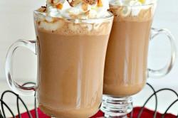 Příprava receptu Kokosovo-karamelová horká/ledová čokoláda, krok 2