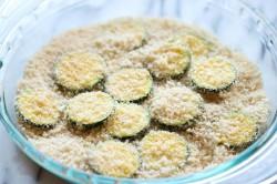 Příprava receptu Křupavé chipsy z cukety, krok 3