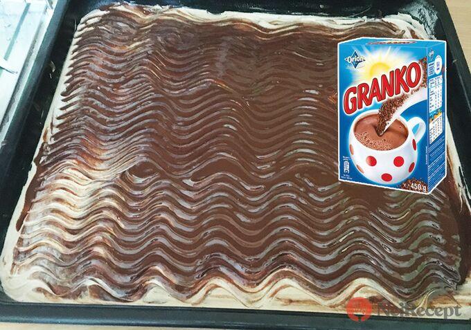 Recept Hrnkový jablečný Granko koláč připraven za 15 minut