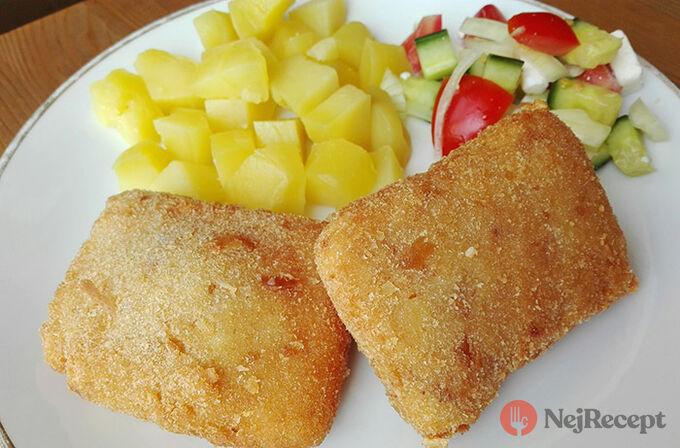 Recept Klasický smažák s vařenými brambory