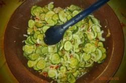 Příprava receptu Americké okurky, krok 1