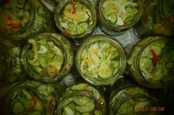 Příprava receptu Americké okurky, krok 3