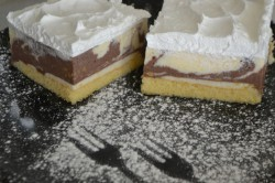 Příprava receptu Fenomenální sněhová šarlotka, krok 1