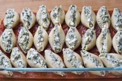 Příprava receptu Těstovinové mušličky v rajčatovém moři, krok 3