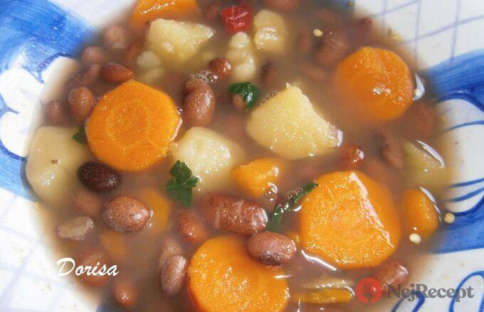 Recept Zdravější dietní fazolová polévka