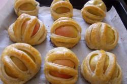 Příprava receptu Vynikající jablíčka v listovém županu s ořechy, krok 5