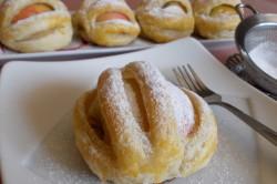 Příprava receptu Vynikající jablíčka v listovém županu s ořechy, krok 7