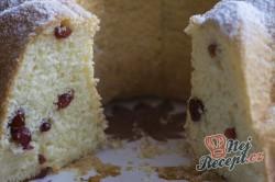 Příprava receptu Bábovka s brusinkami, krok 6