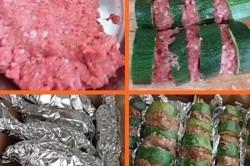Příprava receptu Cuketové špízy s mletým mäsom, krok 1
