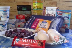 Příprava receptu Výborné jogurtové řezy s ovocem, krok 1