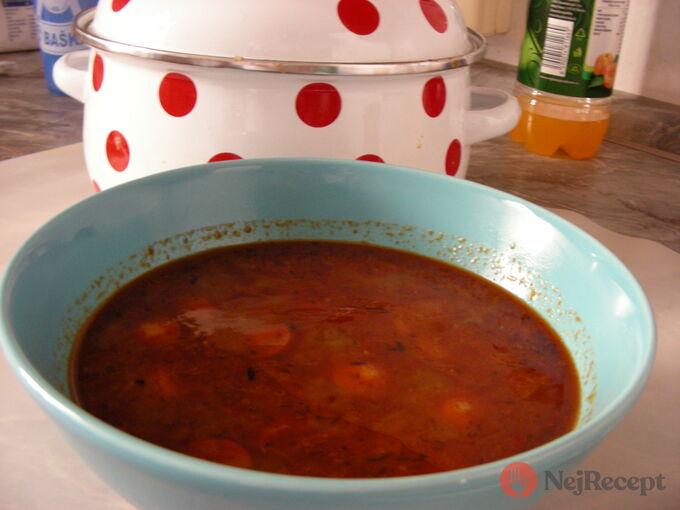 Recept Gulášová polévka