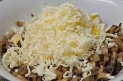 Příprava receptu Vepřové závitky s houbovou nádivkou zapečené ve smetanové omáčce, krok 1