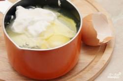 Příprava receptu Domácí sýr s bylinkami, krok 1