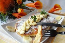 Příprava receptu Lahodné lívance s banánem, krok 1